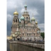 Church of the Savior on Spilt Blood with Griboyedov Canal,  St. Petersburg, Russia