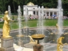 The Samson Fountain, The Grand Cascade, The Grand Palace, Peterhof, St. Petersburg, Russia