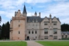 The fine and well-preserved Brodie Castle, in Morayshire, west of Forres, dates from around 1567.