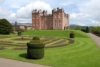 Near Dumfries, Drumlanrig Castle was completed in 1691 by William Douglas, 1st Duke of Queensberry.