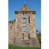 St Andrews Castle stands on a headland just north of the burgh of St Andrews in Fife.