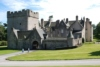 Combining a 13th century tower, Jacobean mansion and Victorian baronial extensions, attractively furnished Drum Castle sits in Aberdeenshire's Royal Deeside, near Banchory.