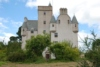 The Scottish baronial style Leslie Castle was built in 1661 and is near Insch, Aberdeenshire.
