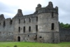 Sited near Dufftown in Banffshire, Balvenie Castle was the chief seat of the immensely powerful 'Black' Comyn earls of Buchan.