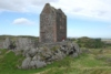 Smailholm Tower in Roxburghshire was built on a rocky knoll in the early 15th century.